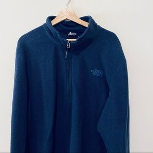 The North Face NWOT 3/4 zip fleece pullover